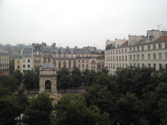 Citadines Les Halles Paris: View from first floor