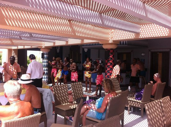 Hotel Riu Touareg : entertainment during managers reception