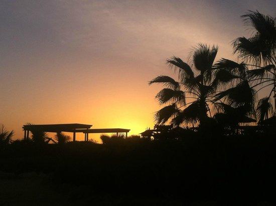 Hotel Riu Touareg: beautiful sunset