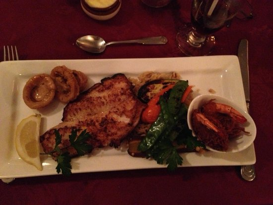 New Orleans Seafood Steakhouse Main Course Fishermans Platter