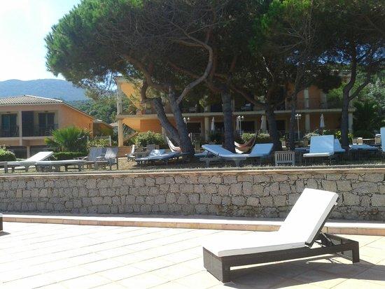 Hotel Castel d'Orcino: zona colazione