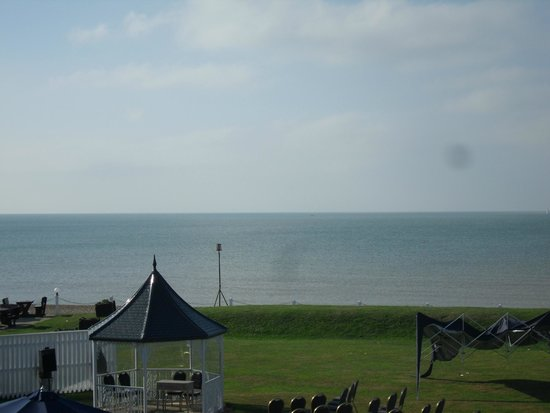 The Cooden Beach Hotel: View from hotel room