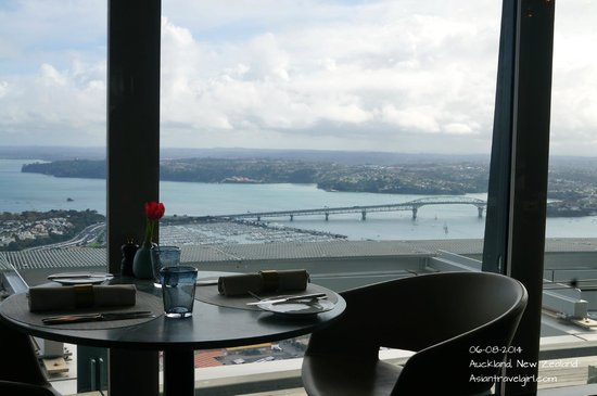 The Sugar Club Auckland : 360 degree view of Auckland