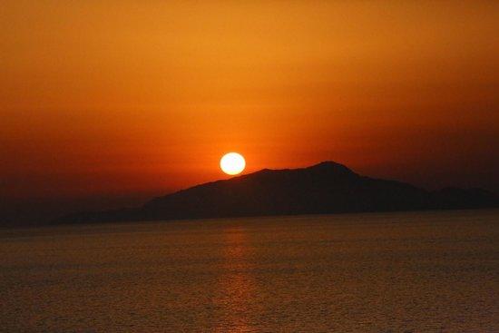 Hotel Delfino: Sunsets are so amazing!