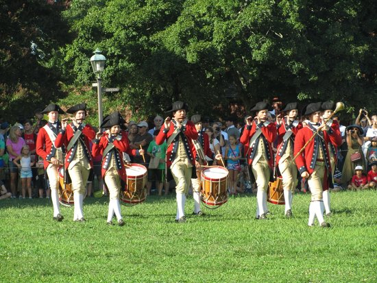 Cedars of Williamsburg Bed and Breakfast: Williamsburg Colonial Town Event
