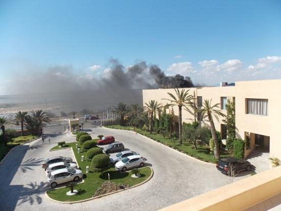 SENTIDO Rosa Beach : fire in hotel absooutely discusting