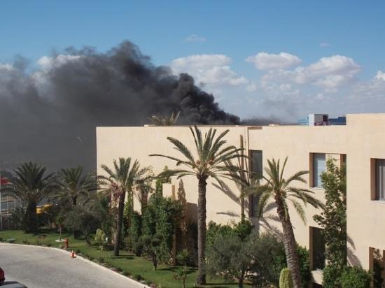 SENTIDO Rosa Beach : fire in hotel no alarms