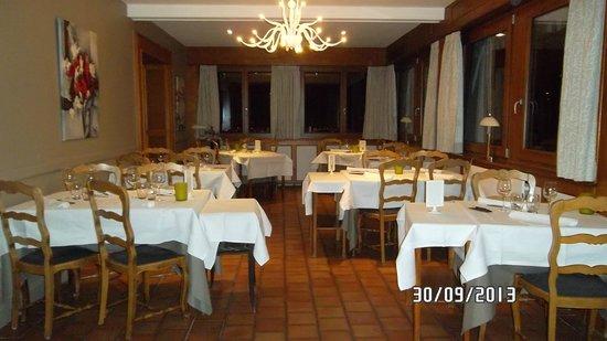 Hotel au Riesling: Le restaurant