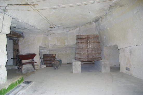 Chateau de Breze : La partie pressoir