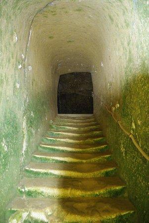 Chateau de Breze : Parti troglodyte