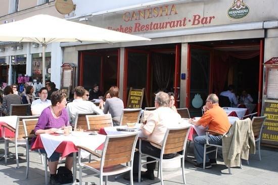 Restaurant Ganesha : ganesha terrace