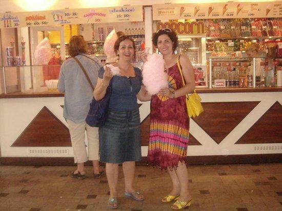 Tivoli: Ved Candyfloss tæt på Wagamama Resturant