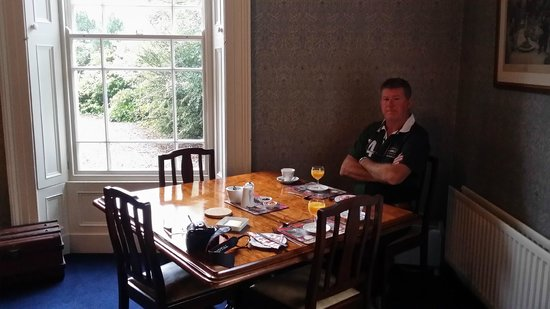 Marlagh Lodge: In the breakfast room