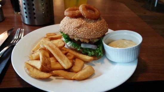 Svalbard-burger med aioli