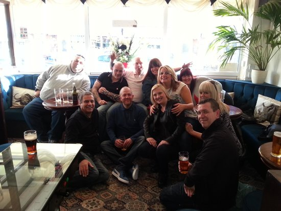 Strathdon Hotel : the gang at the strathdon back in march great times