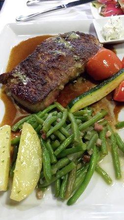Hotel-Restaurant Schwanen : Dinner im Restaurant