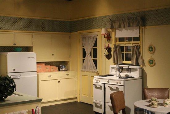 Lucille Ball Desi Arnaz Museum: Lucy's kitchen