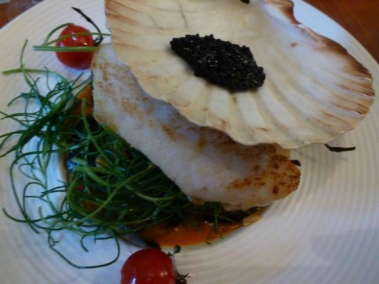 The Vintage Kitchen: Hake and Caviar Main Meal