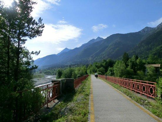 Tarvisio, Italia: Uno degli affluenti del Fiume Tagliamento!