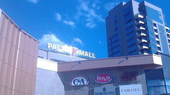 Iasi, Romania: palas mall