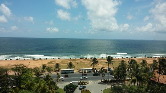 Taj Samudra Colombo: Morning View from the room