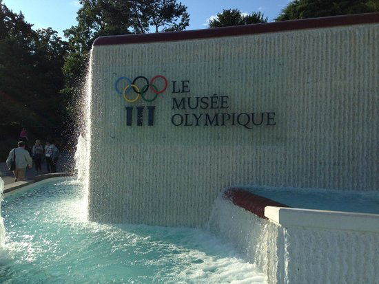 Olympic Museum Lausanne (Musee Olympique): targa museo