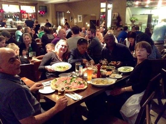 L'Osteria: fabulous food enough to share