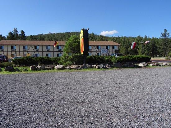 Super 8 Williams East/Grand Canyon Area: vista hotel