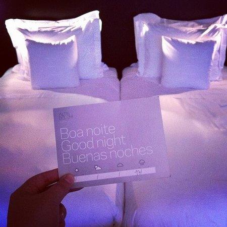 Altis Belém Hotel & Spa: Boas vindas!