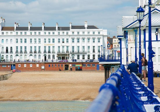 The Claremont Hotel: From the pier