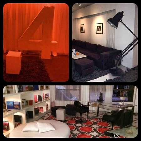 BAB HOTEL : The Lounge and 4th floor