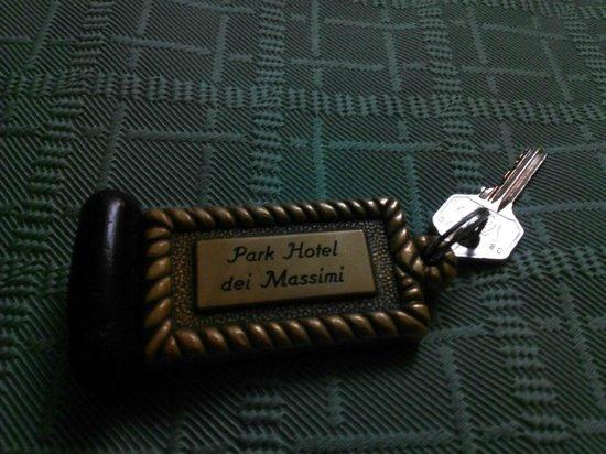 Park Hotel dei Massimi: ключик
