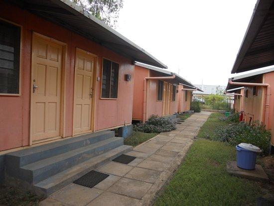 Hamza Inn: the bungalows