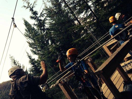 Ziptrek Ecotours : Good times!