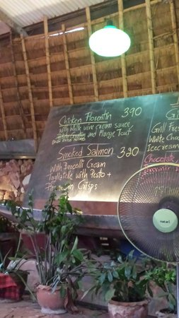 Ling Uan (Fat Monkey): Menu