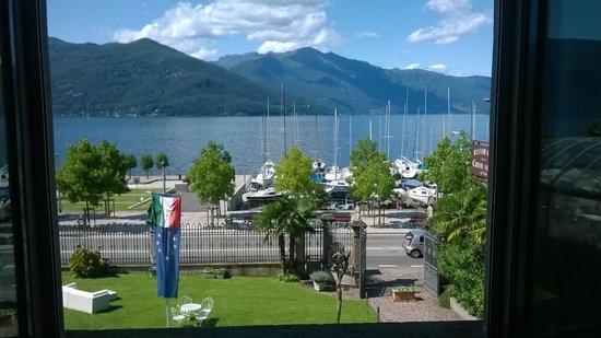Camin Hotel Luino: vista direttamente sul lago maggiore!!