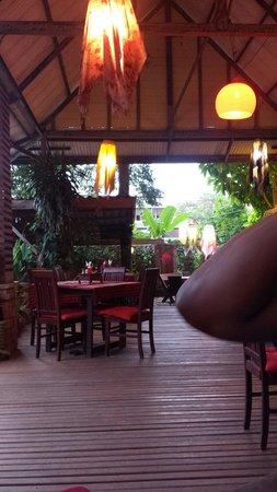 Ling Uan (Fat Monkey): La salle du restaurant