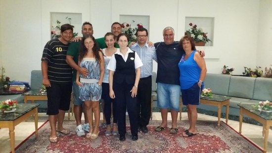 Il Palazzin Hotel: noi e lo staff
