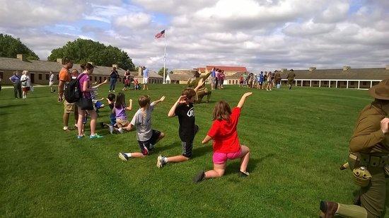 Historic Fort Snelling: Grenade Drill