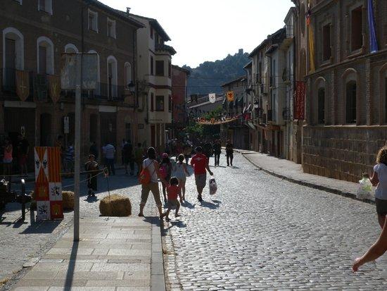 Daroca : Calle principal