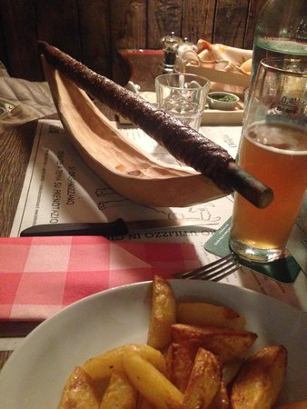 """Keller Steak House: il """"rotolo"""" di manzo e pancetta"""