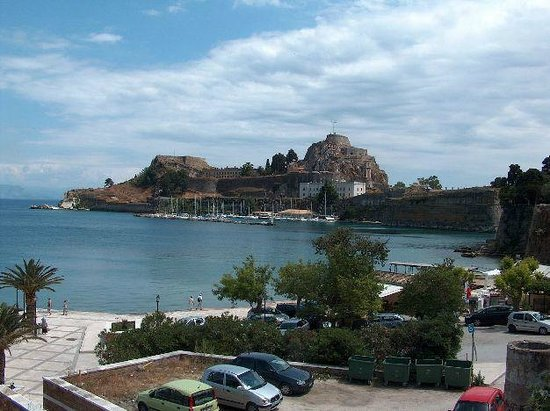 Old Fortress Corfu : old fortress