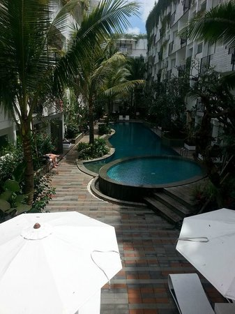 Akmani Legian: View from the lobby
