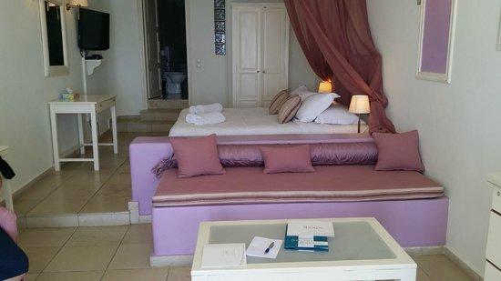 Tholos Resort: το δωματιο μας