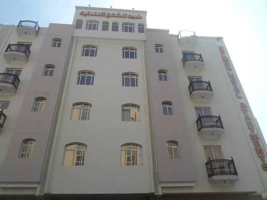 Delmon Hotel Apartments : facciata