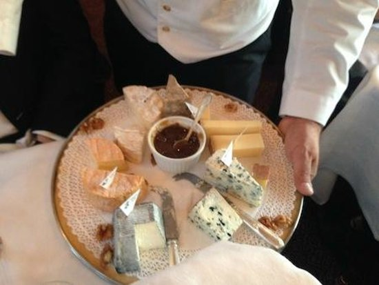 Venice Simplon-Orient-Express: Day Trips: Cheese, after dinner