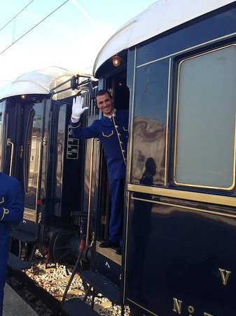 Venice Simplon-Orient-Express: Day Trips: Saying goodbye to Santino, our cabin steward