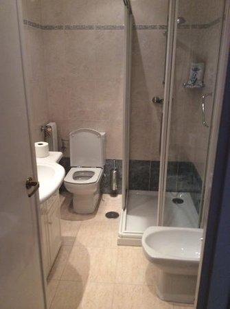 Gran Hotel Delfin : baño reformado y limpio
