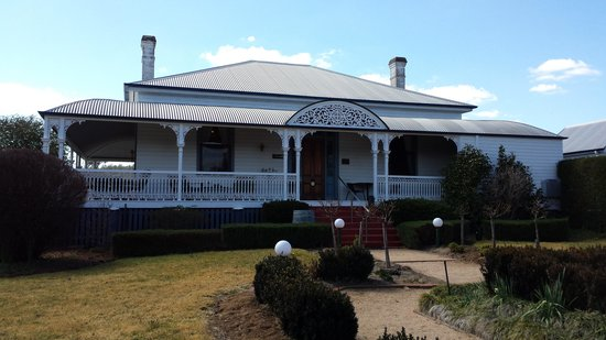Whiskey Gully Wines and Beverley Vineyard Restaurant: The homestead