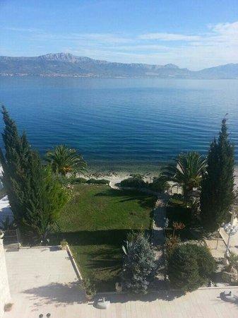 Slatine, Croacia: Spiaggia